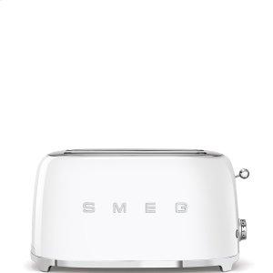 4x2 Slice Toaster, White -