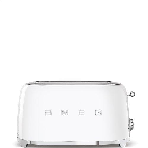4 Slice Toaster, White