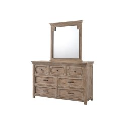 1055 Sante Fe Dresser with Mirror
