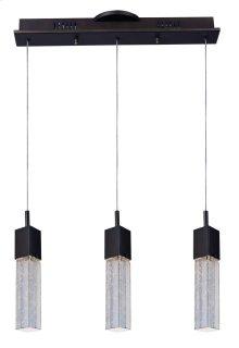 Fizz III 3-Light LED Pendant
