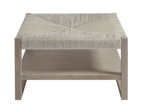 Woven Bunching Cocktail Table