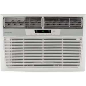 8,000 BTU Window-Mounted Room Air Conditioner with Supplemental Heat -