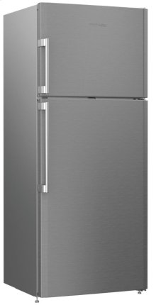 """28"""" 15 cu ft Top Freezer with auto ice maker, stainless"""