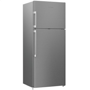 "Blomberg28"" 15 cu ft Top Freezer with auto ice maker, stainless"