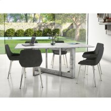 Lloyd 7pc Dining Set, Black