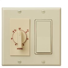 60 Minute Time Control with one rocker switch, Ivory