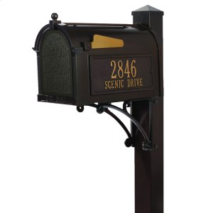 Superior Mailbox Package - Bronze Product Image