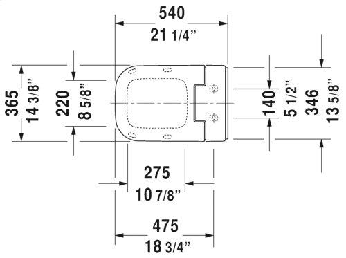 White Sensowash® Slim Sensowash Slim Shower-toilet Seat For Happy D.2