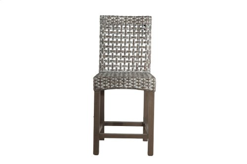 24'' Bar Stool, Available in Vintage Smoke Finsih Only.