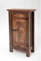 Heritage Winchester 1 Door Pantry Cupboard With Curved Door Product Image