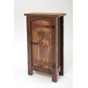 Heritage Winchester 1 Door Pantry Cupboard With Curved Door Product Image