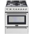 """Stainless Steel 30"""" Self-Cleaning Dual Fuel Range with Warming Drawer Product Image"""
