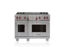 "48"" Dual Fuel Range - 4 Burners and Infrared Dual Griddle"