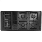 "Designer Line Modular Gas Downdraft Cooktop, 45"" Product Image"
