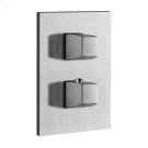 """TRIM PARTS ONLY External parts for 3-way diverter thermostatic and volume control Single backplate 1/2"""" connections Vertical/Horizontal application Anti-scalding Requires in-wall rough valve 09279 Product Image"""