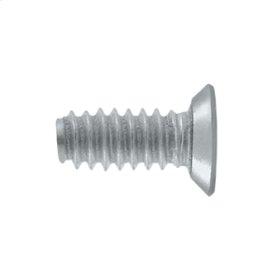 "Machine Screw, Steel, #9 x 1/2"" - Brushed Chrome"