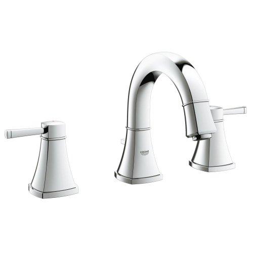 """Grandera 8"""" Widespread Two-Handle Bathroom Faucet S-Size"""