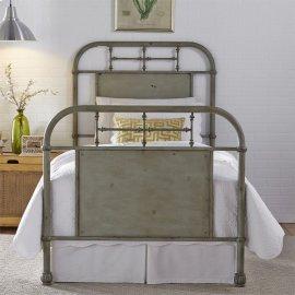 Full Metal Bed - Green