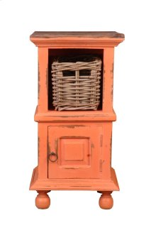 Sunset Trading Cottage End Table with Basket