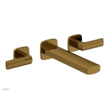 RADI Wall Lavatory Set - Lever Handles 181-12 - French Brass