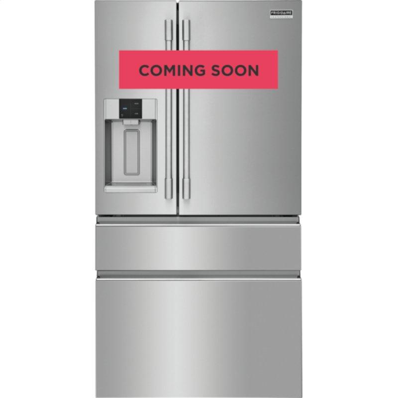 Professional 21.8 Cu. Ft. Counter-Depth 4-Door French Door Refrigerator