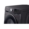 Samsung 4.5 Cu. Ft. Smart Front Load Washer With Super Speed In Black Stainless Steel