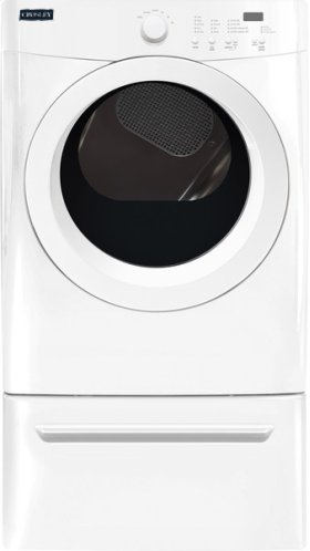 Crosley Front Load Dryer - White