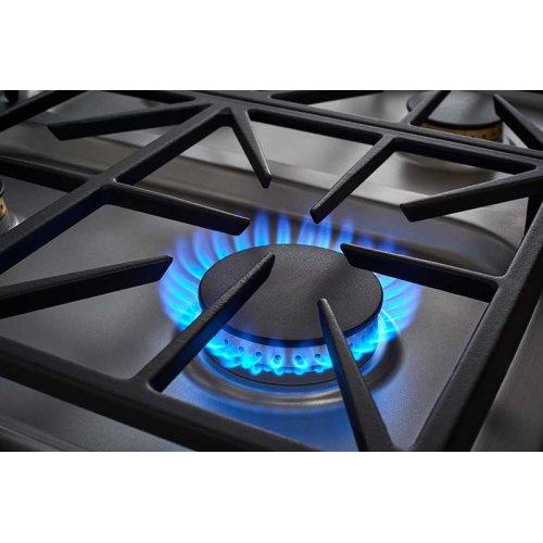 "Heritage 36"" Dual Gas Cooktop, Liquid Propane/High Altitude"