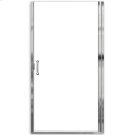 """Euro Frameless Hinge Shower Doors with """"D"""" handle - Gold Product Image"""
