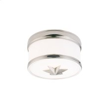 Flush Mount - Polished Nickel