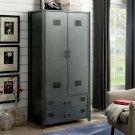 Ziva Metal Armoire Product Image