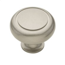 Satin Nickel Deco Knob
