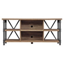Enjoy attractive, mid-century modern design with this TV stand available in...