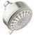 Additional Modern 5-Function Shower Head - Brushed Nickel