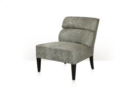 Nia Upholstered Chair - Channeled Back & Exposed Leg