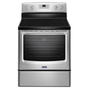MaytagHERITAGE30-inch Wide Electric Range with Convection and Third Rack - 6.4 cu. ft.