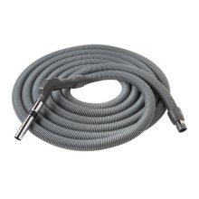 "Crushproof hose, Central Vacs, 30 feet long x 1-3/8"" inner hose diameter in Dark Gray"