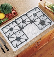 "GE Profile 36"" Built-In Gas Cooktop"