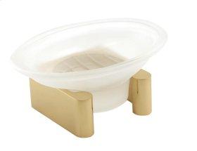 Luna Soap Holder A6835 - Polished Brass