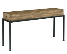 Butcher Block Console Table