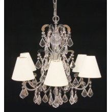 Sylvia Chandelier Crystal