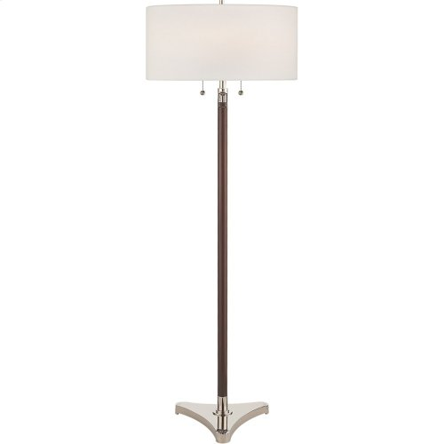 Visual Comfort SC1101PN-L Eric Cohler Paris 58 inch 75 watt Polished Nickel Decorative Floor Lamp Portable Light