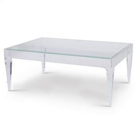 Fluted Cocktail Table