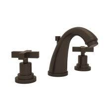 Tuscan Brass Avanti C-Spout Widespread Lavatory Faucet with Cross Handle