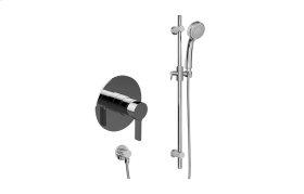 Contemporary Pressure Balancing Shower w/ Handshower