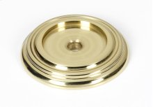 Charlie's Collection Backplate A616-14 - Polished Brass