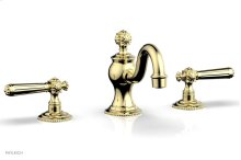 MARVELLE Widespread Faucet lever Handles 162-02 - Polished Brass