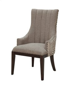 Safari Two Toned Channel Back Chair