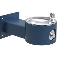 Elkay Outdoor Fountain Wall Mount Non-Filtered, Non-Refrigerated Freeze Resistant Blue