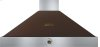 Hood DECO 48'' Brown matte, Bronze 1 power blower, analog control, baffle filters